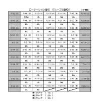 ローテーション登校 グループ別登校日